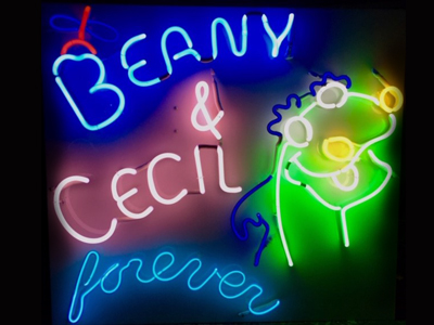 Beany & Cecil Sculpture