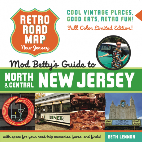 Retro Roadmap - NJ (Limited Edition)
