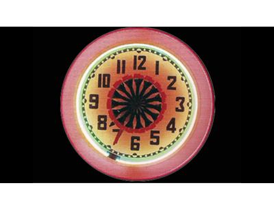 ENCC Chase Wheel Clock