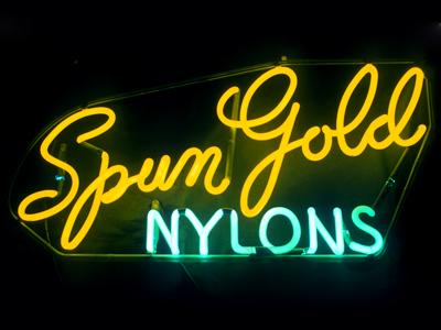 Spun Gold Nylons