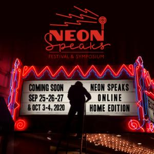 Banner SQ Coming Soon Neon Speaks