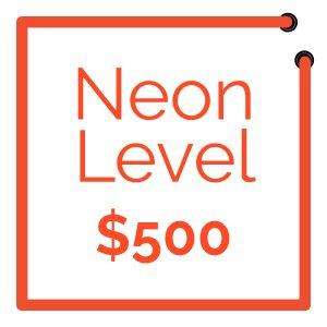 Adopt A Sign Neon